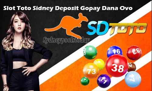 Slot Toto Sidney Deposit Gopay Dana Ovo