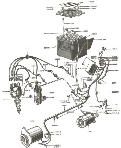 Wiring Diagram Blog  1955 Ford Jubilee Tractor Wiring Diagram