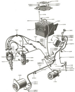 Wiring Diagram Blog: 1955 Ford Jubilee Tractor Wiring Diagram