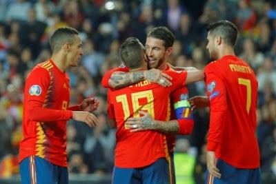 مشاهدة إسبانيا ومالطة