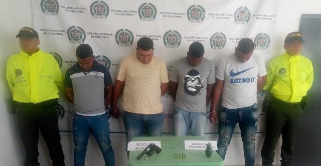 Uno del combo de 'Los Majupay' y tres más fueron capturados cuanto intentaban robar una bodega