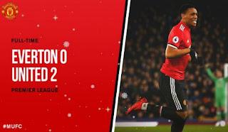 Everton vs Manchester United 0-2 Video Gol & Highlights