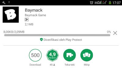 Update Aplikasi Baymack