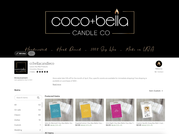 Coco+Bella Candle Co