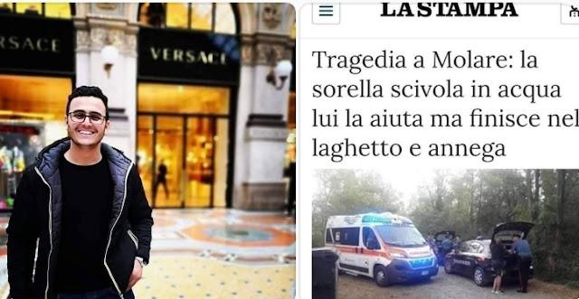 مأساة..وفاة مهاجر مغربي شمال إيطاليا غرقا بعد محاولة إنقاذ