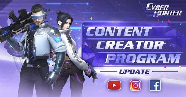 Cyber Hunter Program Content Creator Telah di Buka