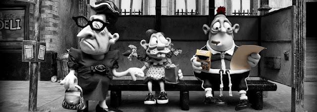 Imagen de la película de animación australiana en stop motion Mary and Max