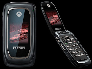 Motorola i897 Ferrari Black for Nextel in Brazil