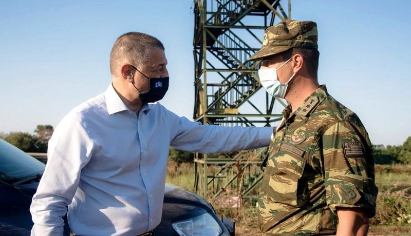 Επίσκεψη Υφυπουργού Εθνικής Άμυνας Αλκιβιάδη Στεφανή στη Συνοριακή Γραμμή του Έβρου