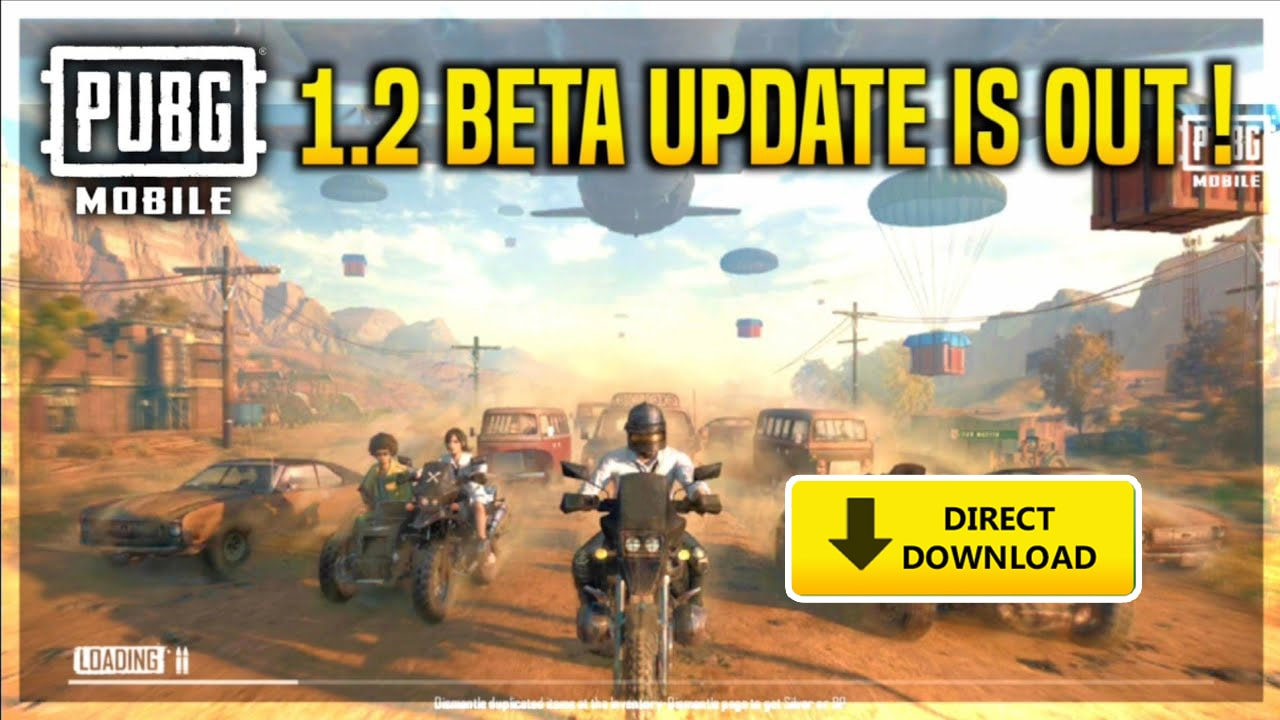 PUBG Mobile 1.2 Beta Version officially released