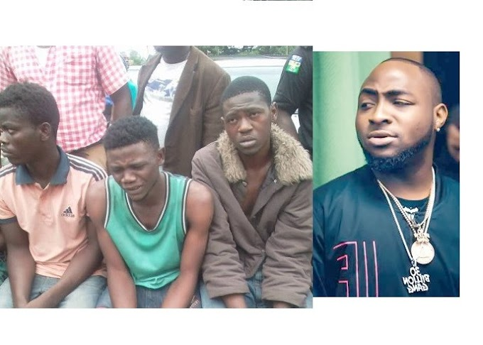 Suspect Confesses That He Joined The Black Axe Confraternity In Order To Meet Davido