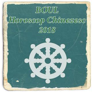 BOUL Horoscop Chinezesc 2018 previziuni dragoste bani sanatate