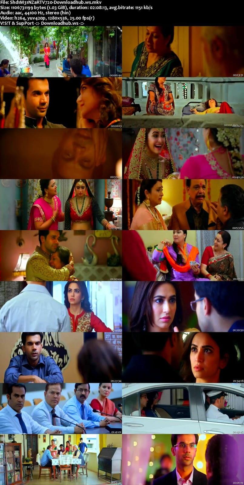 Shaadi Mein Zaroor Aana 2017 Hindi 720p HDTV