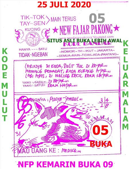 New Fajar Pakong Sabtu