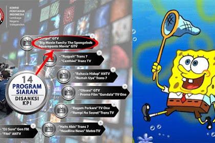 Fakta-Fakta Mengapa SpongeBob Kena Teguran KPI
