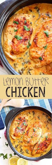 Lemon Butter Chícken