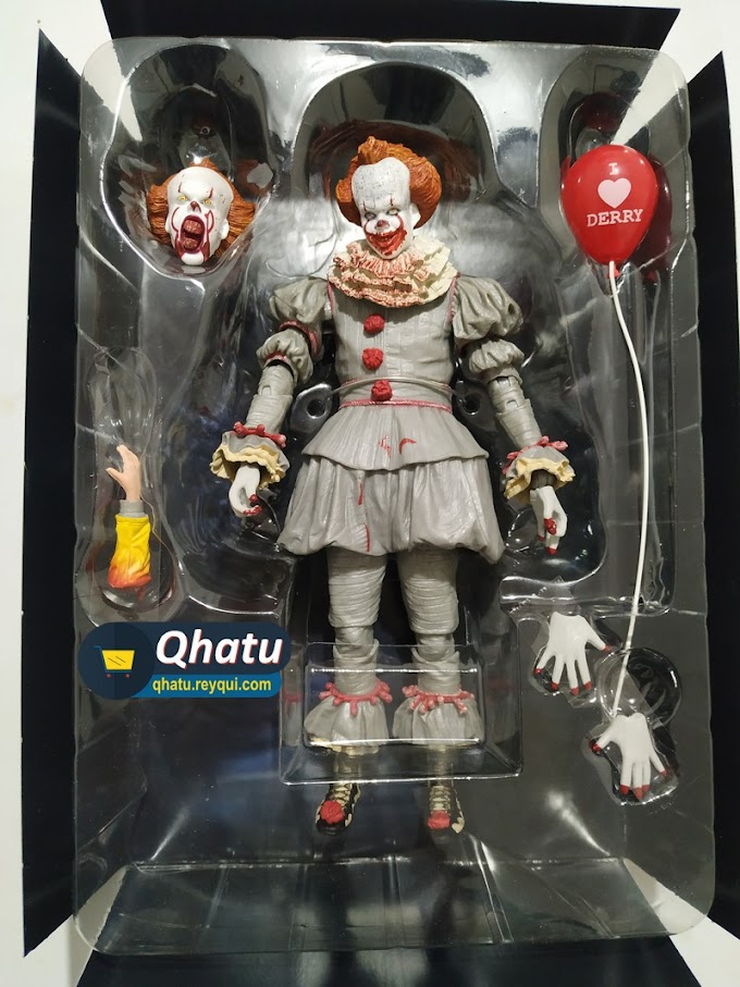 (Bs. 180) Pennywise IT Blood (Figura original Neca) #QT19