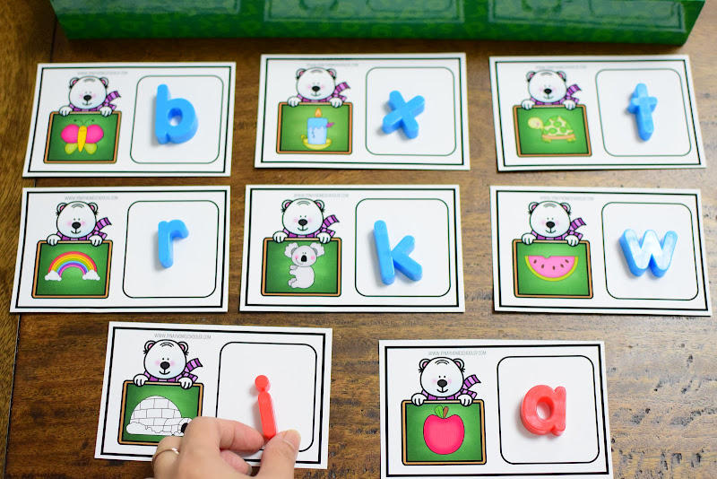 WINTER THEMED UNIT: BEGINNING LETTER SOUNDS