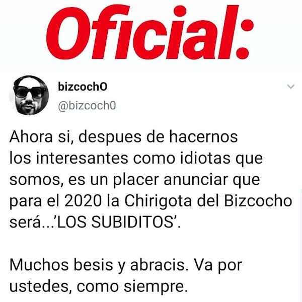 La chirigota del Bizcocho anuncia su nombre para el COAC2020