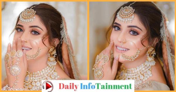 Kanwal Aftab Flaunts Elegance in recent bridal photo shoot