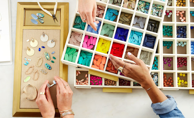 Kendra Scott Color Bar jewelry making