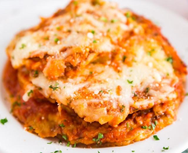 Best Baked Eggplant Parmesan #dinner #recipes