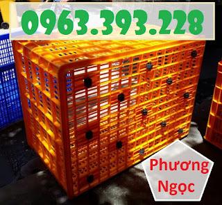 Sọt nhựa 26 bánh, sọt nhựa HS015, sóng nhựa công nghiệp 3ed53b1490b070ee29a1