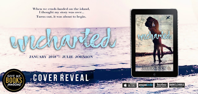 Cover Reveal for Uncharted by Julie Johnson