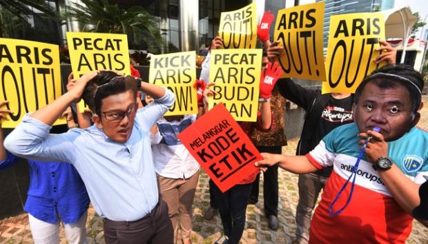 Perdebatan Pimpinan KPK Soal Sanksi Bagi Aris Budiman