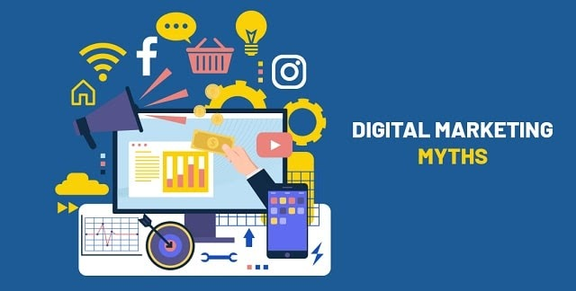 6 Digital Marketing Myths that Simply Aren