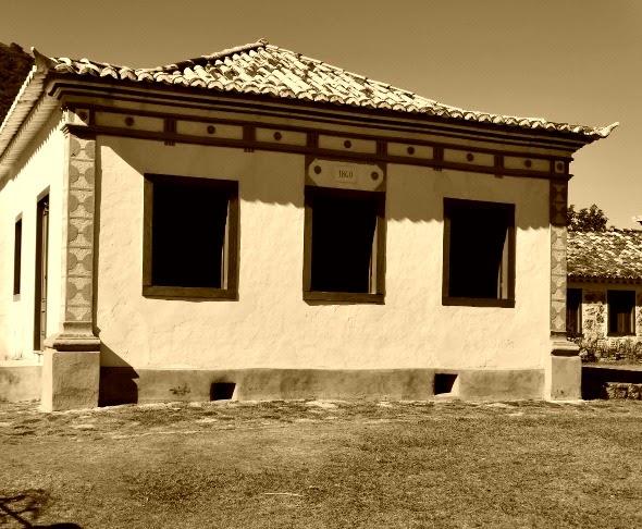 A Casa de Moradia, localizada ao lado do Engenho Caminho dos Açores, Florianópolis