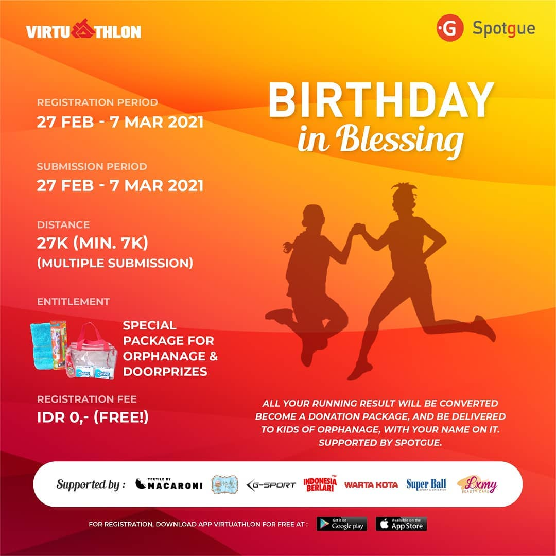 Doorprize 🎁 Birthday in Blessing Virtual  • 2021