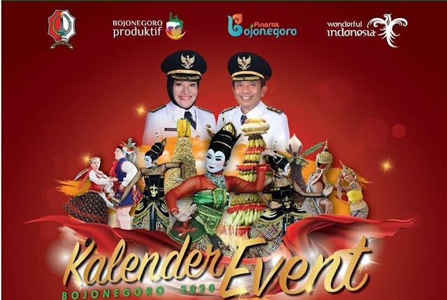 kalender event wisata bojonegoro 2020