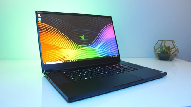 Razer Blade Pro 17 Gaming Laptop. Its performance is pretty impressive and has awesome display. Its battery lasts long while on gaming. It has Intel Core i7 CPU with NVIDIA GeForce RTX 2080 Max-Q 6GB GDDR6 GPU with 16GB of DDR4 RAM.