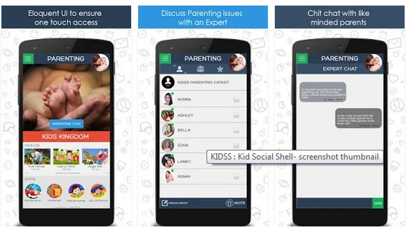 KIDSS, the mobile app for Proficient Parenting is going Viral