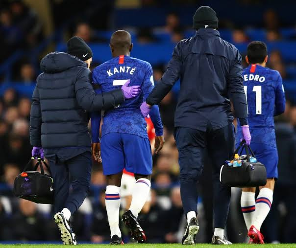 No Kante for Chelsea in their next five games