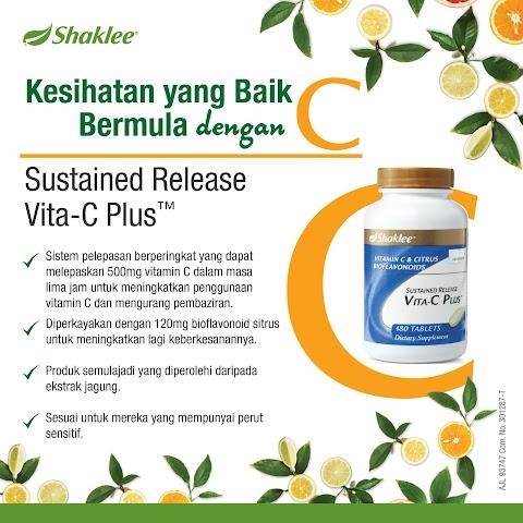 Lawan Selsema Dan Batuk Dengan Manfaat Vitamin C Shaklee