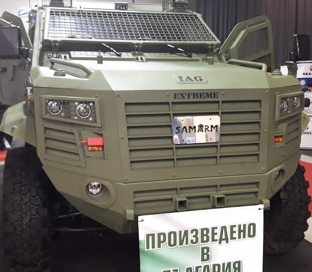SAMARM IAG Extreme vehicle