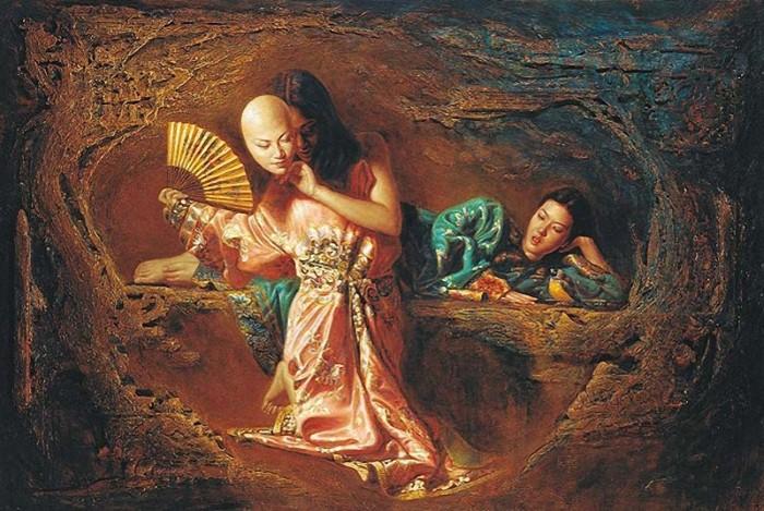 Работы в духе классического романтизма. George Tsui 19