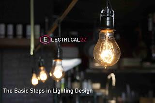 basic steps in lighting design, lighting design, lighting installation@electrical2z