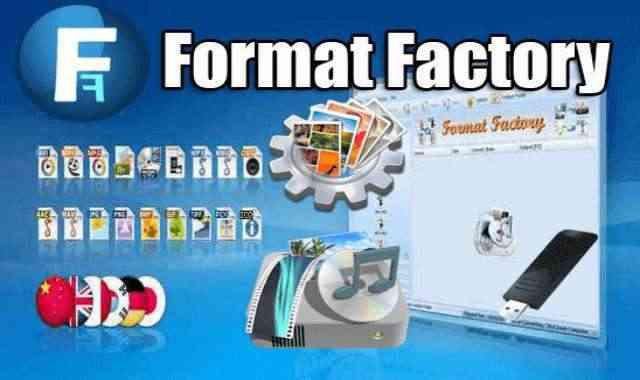 تحميل برنامج Format Factory Portable محول الصيغ الاول اخر اصدار محمول