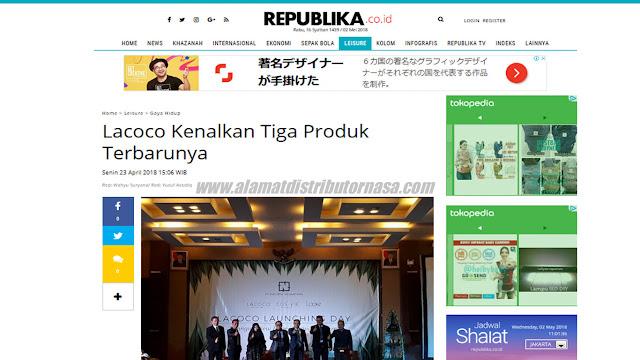 Republika.co.id - Lacoco Kenalkan Tiga Produk Terbarunya
