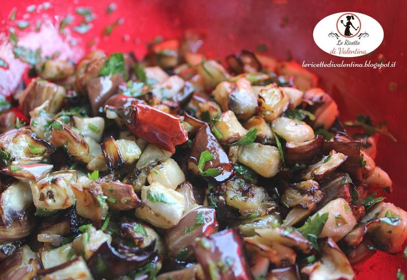 Amato Le Ricette di Valentina: Melanzane in carpione, fritte con la  UY12