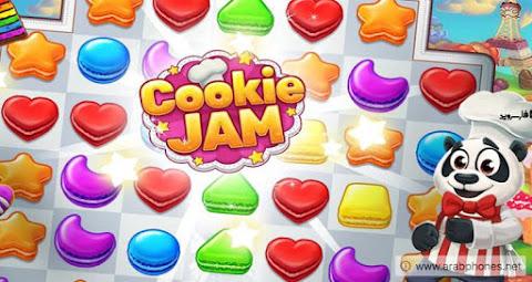 تحميل لعبة Cookie Jam مهكرة لهواتف Android - آخر اصدار