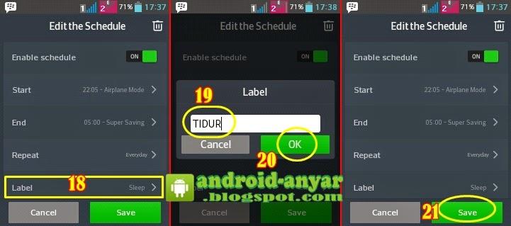 Cara Aktifkan Airplane Mode di Malam Hari secara Otomatis pada Android