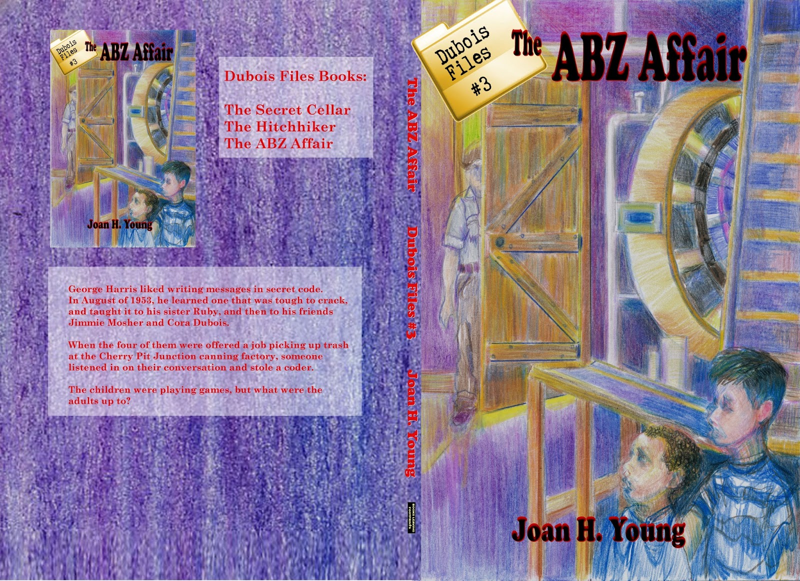 full cover for print edition of The ABZ Affair