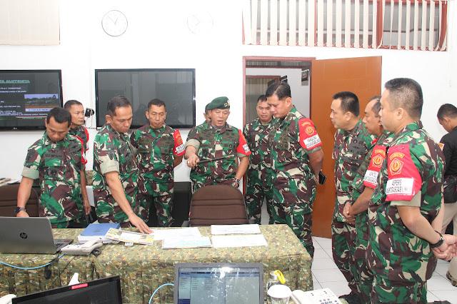 Pangkogab Kunjungi  Posko Kogasgab Di Bandung
