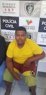Policia de Picuí prende acusado de trafico de drogas e crimes violentos