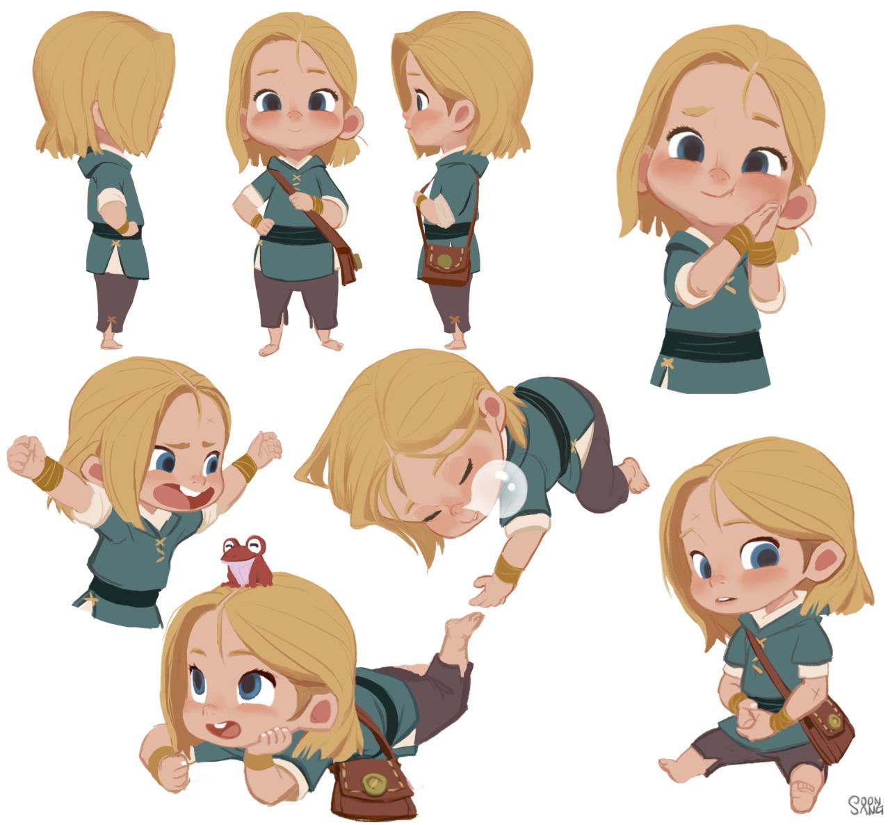 Character Design Genres : Sketching e ilustración hong soonsang ¡¡ para alucinar