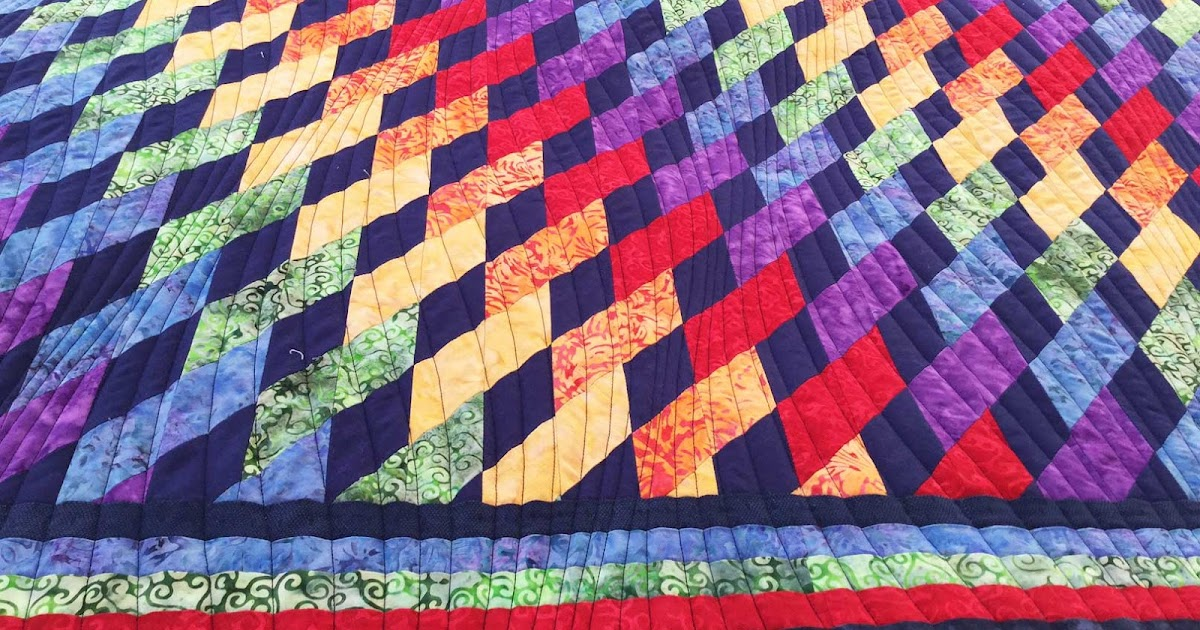 Fabadashery Longarm Quilting: Rainbow Quilt by Rosemary